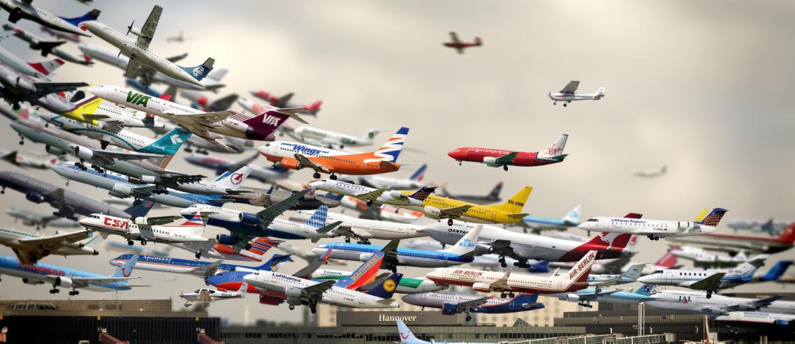 TOP TEN leteckých společností 2014